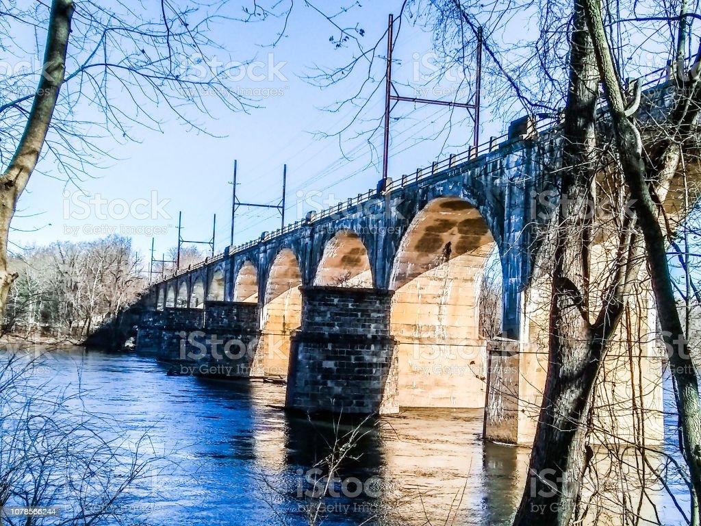 Route 532 Bridge Over Delaware River At Washington Crossing