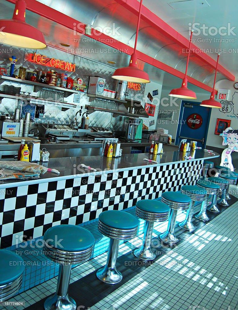 Route 66 Diner in Albuquerque stock photo