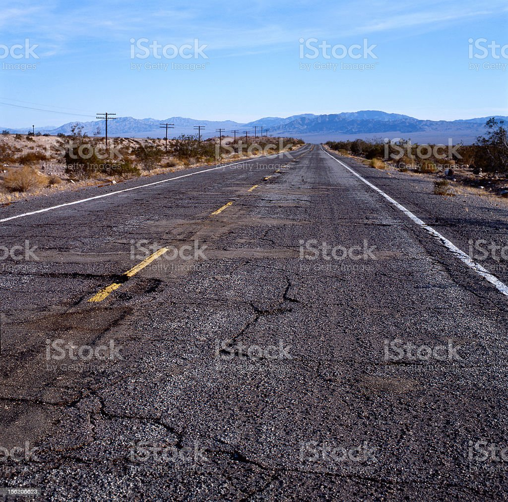 Route 66 in the U.S.A. stock photo