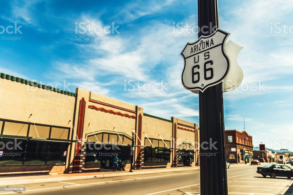 US route 66 stock photo