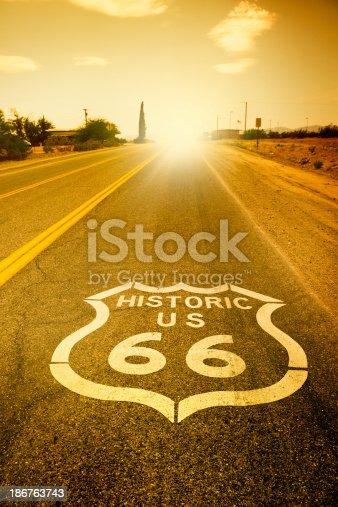 Route 66,Nevada,USA.