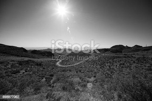 Historic Route 66. Located in northern Arizona, U.S.A.