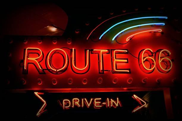 Route 66 sign. – zdjęcie