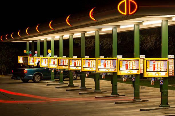 Route 66 Sonic Drive-In Restaurant - Albuquerque New Mexico stock photo