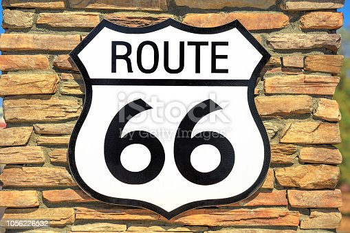 istock Route 66 vintage background 1056226532