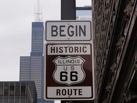 Route 66 with Big Willie