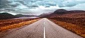 Route 832 along Little Loch Broom, Scotland UK