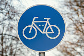 Route for\npedal cycles\nonly traffic sign