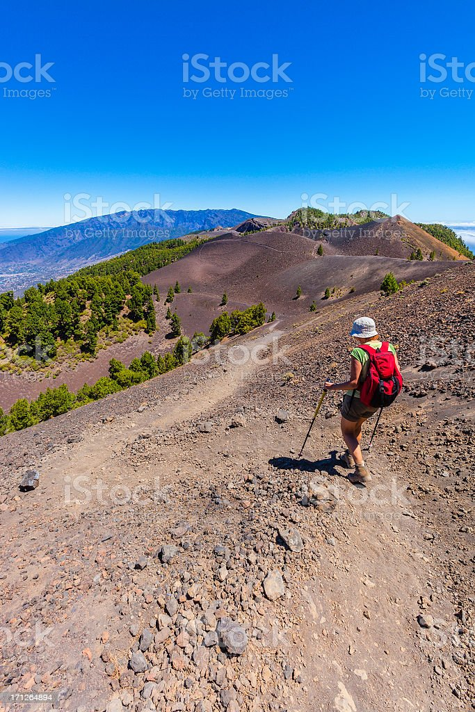 Ruta de los Volcanes, La Palma royalty-free stock photo