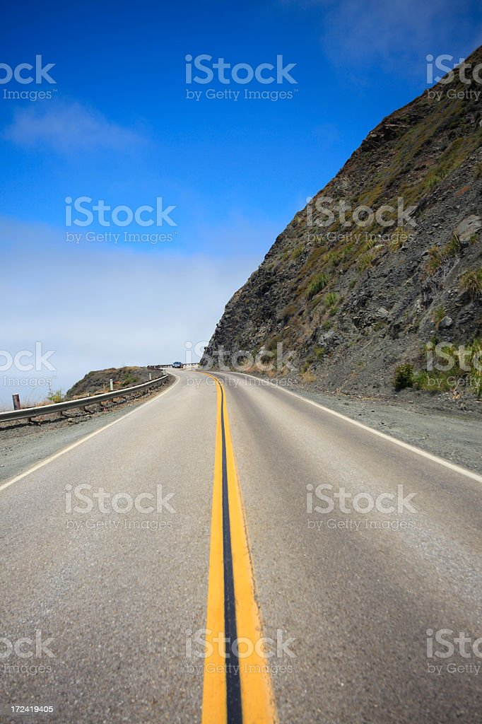 Route One royalty-free stock photo