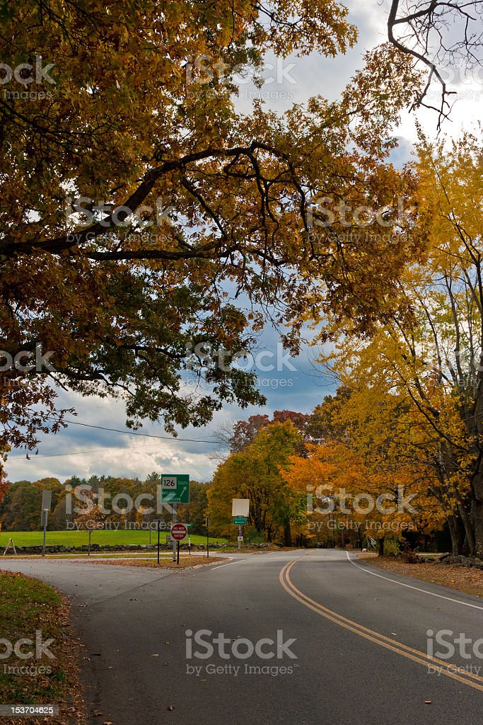 Route126 royalty-free stock photo