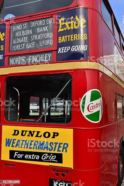 Routemaster Double-decker bus, U.K.