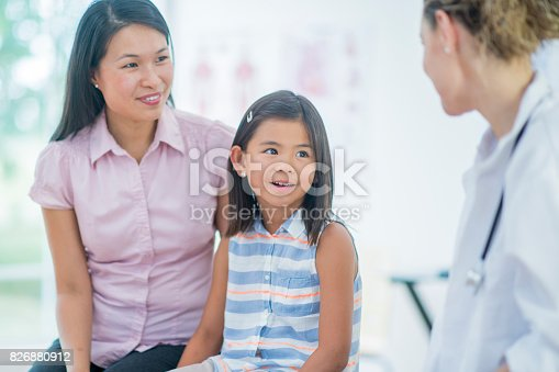 826880918 istock photo Routine Checkup 826880912