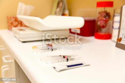 Routine vaccinations from the veterinarian. RM