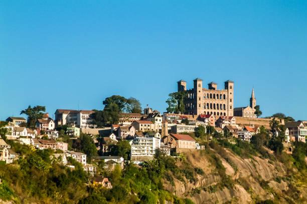 Rova of Antananarivo stock photo