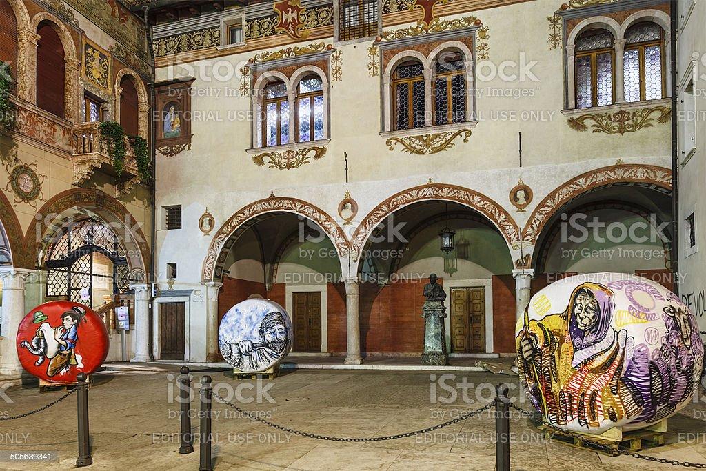 Rovereto, Italy stock photo