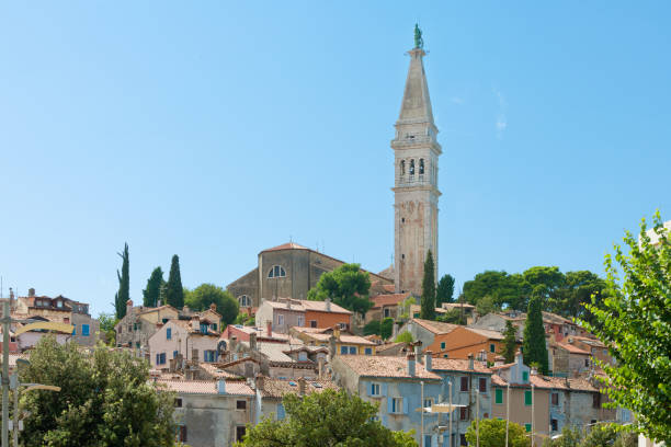 Rovinj, Istrien, Kroatien - Kirchturm der Kirche St. Euphemia – Foto