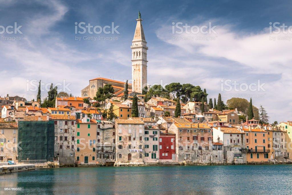 Rovinj on Adriatic sea in Croatia. royalty-free stock photo