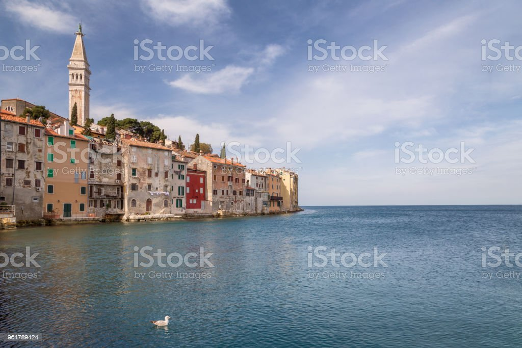Rovinj on Adriatic sea in Croatia. royalty-free stock photo