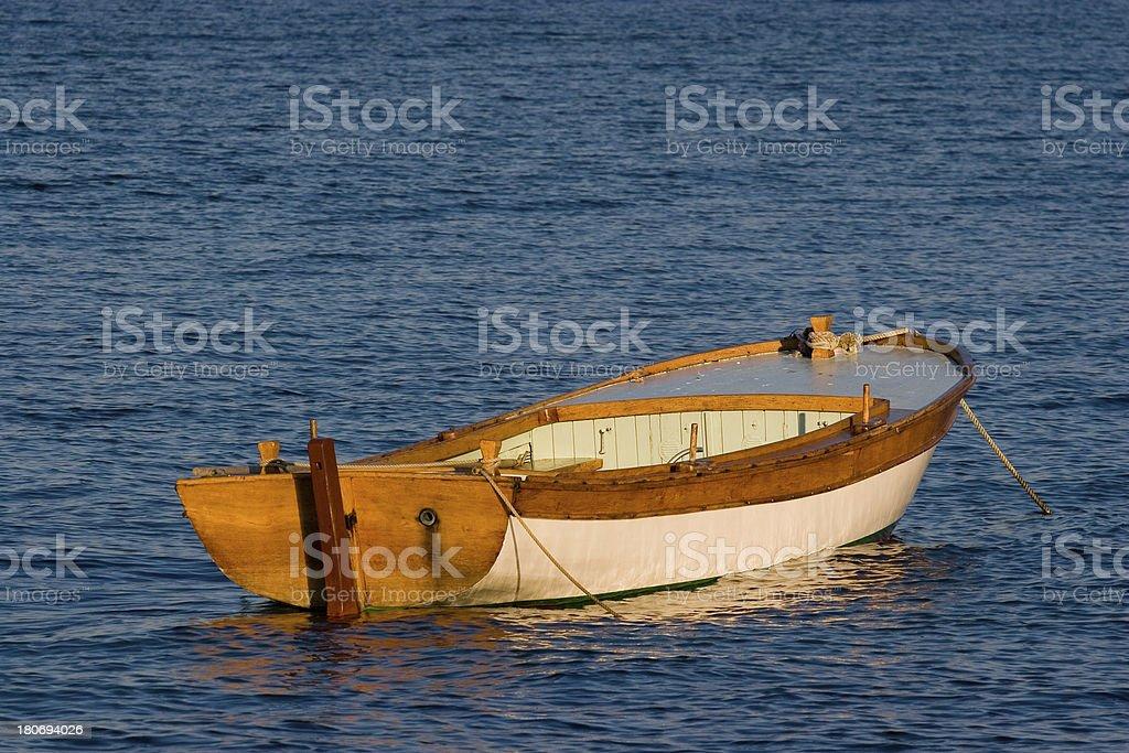 row boat (Dollar Bin image) royalty-free stock photo