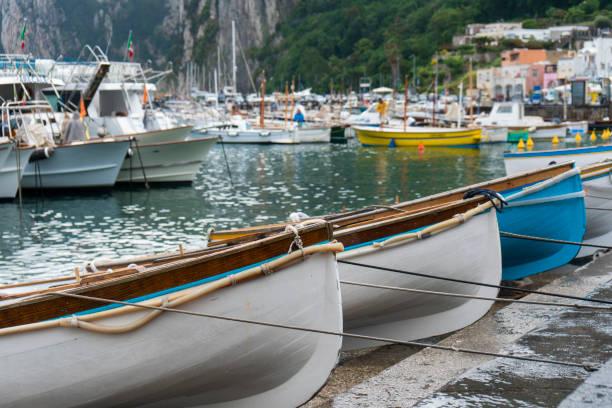 Ruderboote in Capri – Foto