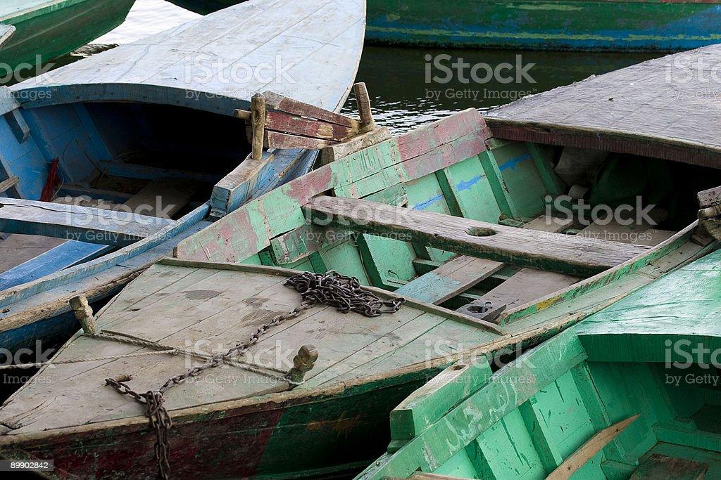 Row Boats royalty free stockfoto