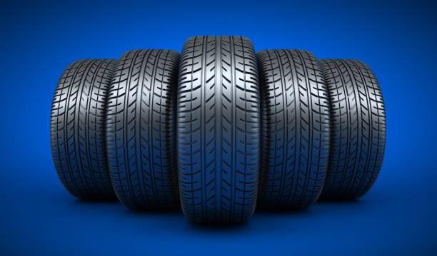 Zeile 5 Reifen Auto – Foto