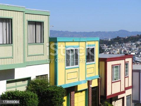 108220043 istock photo Row Houses California 173559064