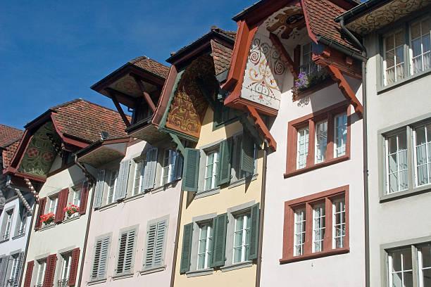 Row Houses im Aarau – Foto