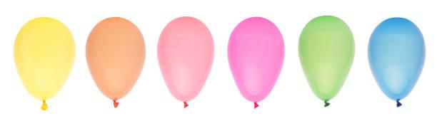 Row of Balloons stock photo