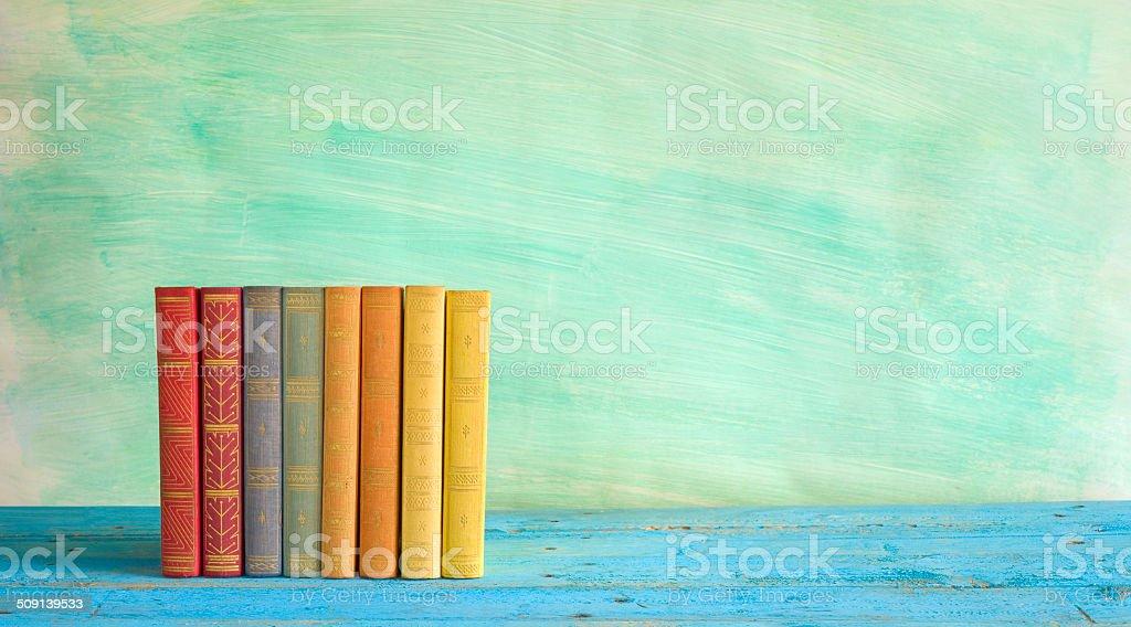 Reihe von Büchern – Foto