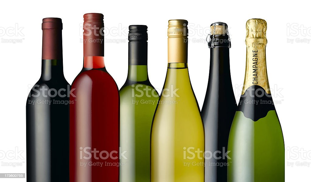 row of bottles royalty-free stock photo
