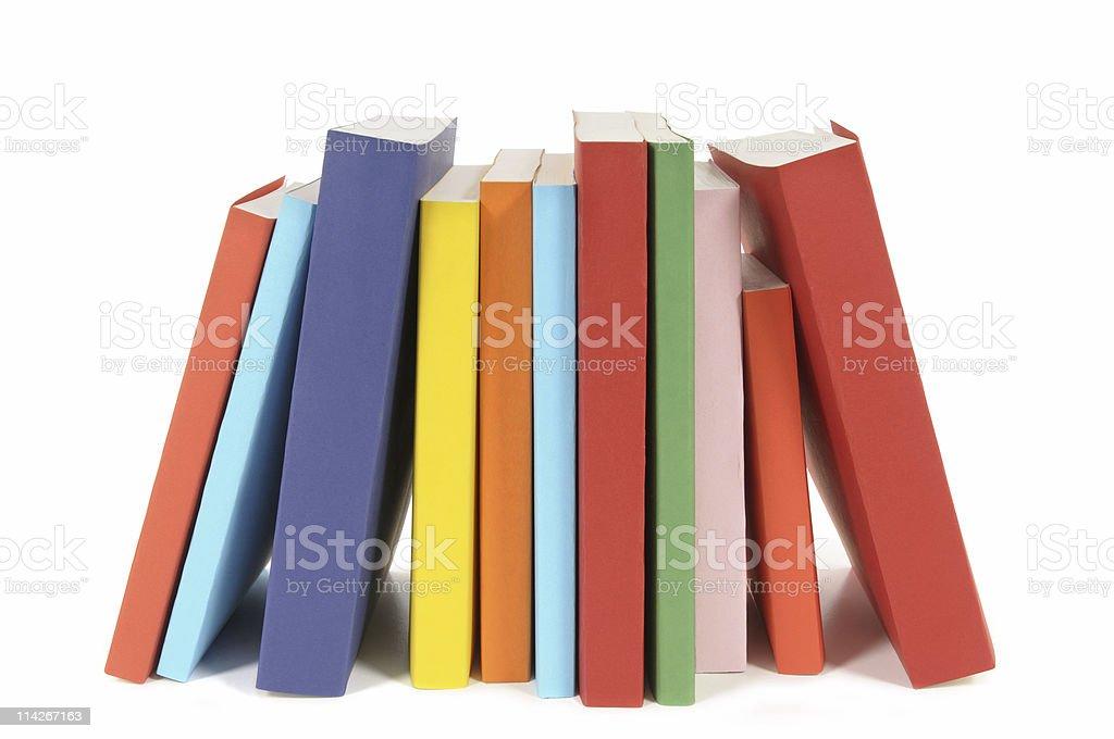 Photo Libre De Droit De Rangee De Livres Colores Livre