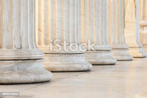 istock row of columns 868348942