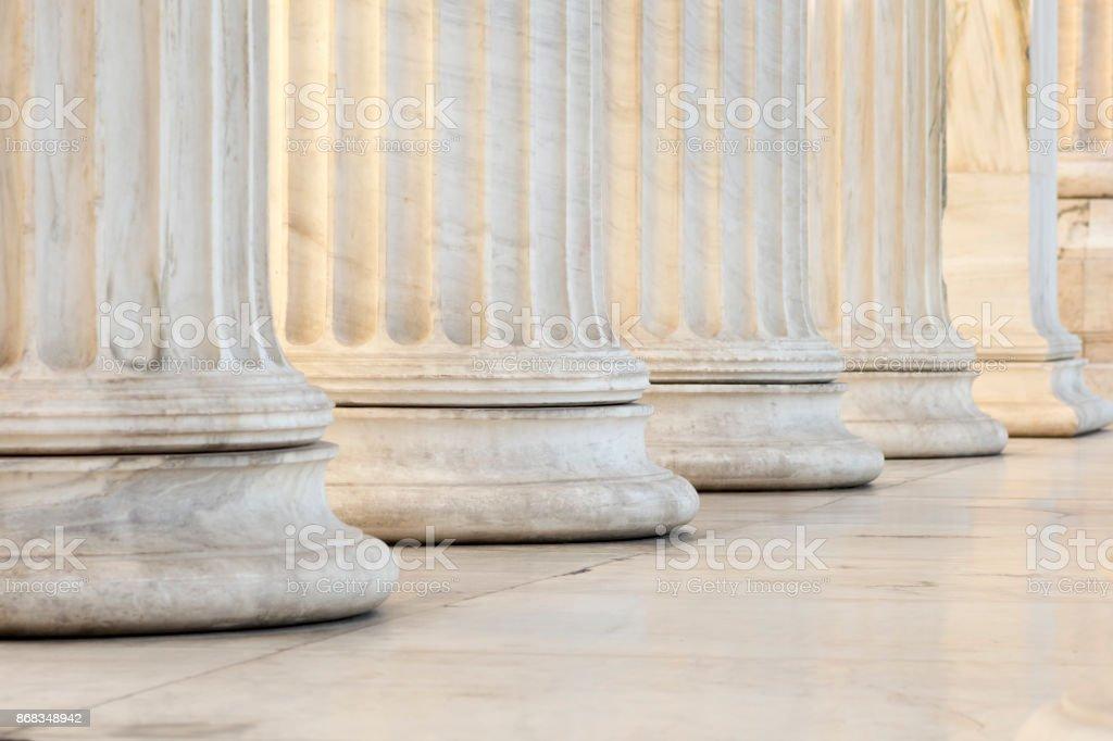 Rangée de colonnes - Photo