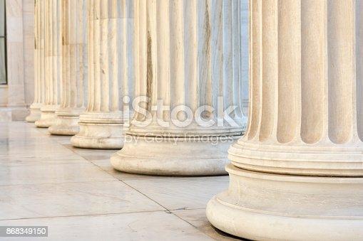 istock row of columns 868349150