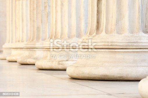 istock row of columns 868349406