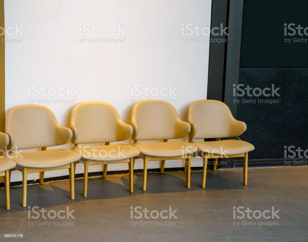 Tremendous Row Of Light Brown Chairs In The Hallway Leather Chairs Gmtry Best Dining Table And Chair Ideas Images Gmtryco