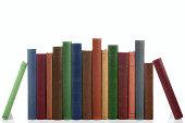 istock Row of old books. 179270240