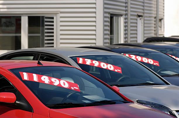 Autos zum Verkauf verwendet – Foto