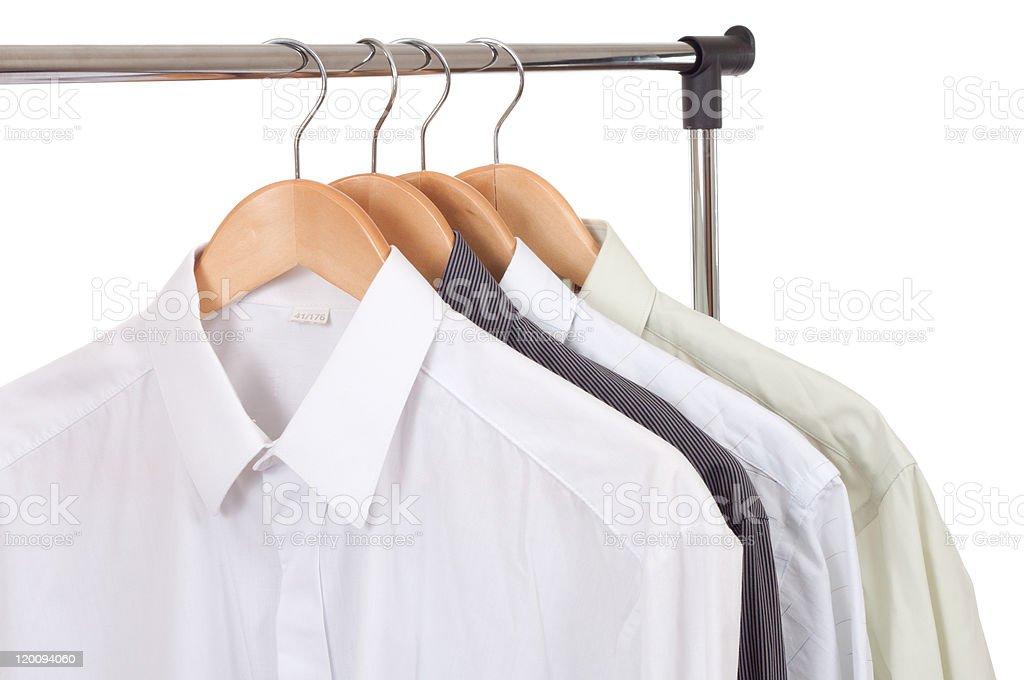 Row of Shirts royalty-free stock photo