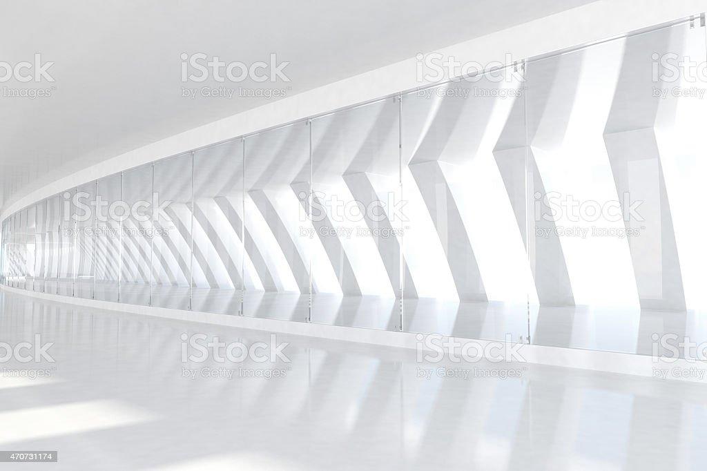 Wiersz Z Białego łuki Z światło Słoneczne Transiluminacji