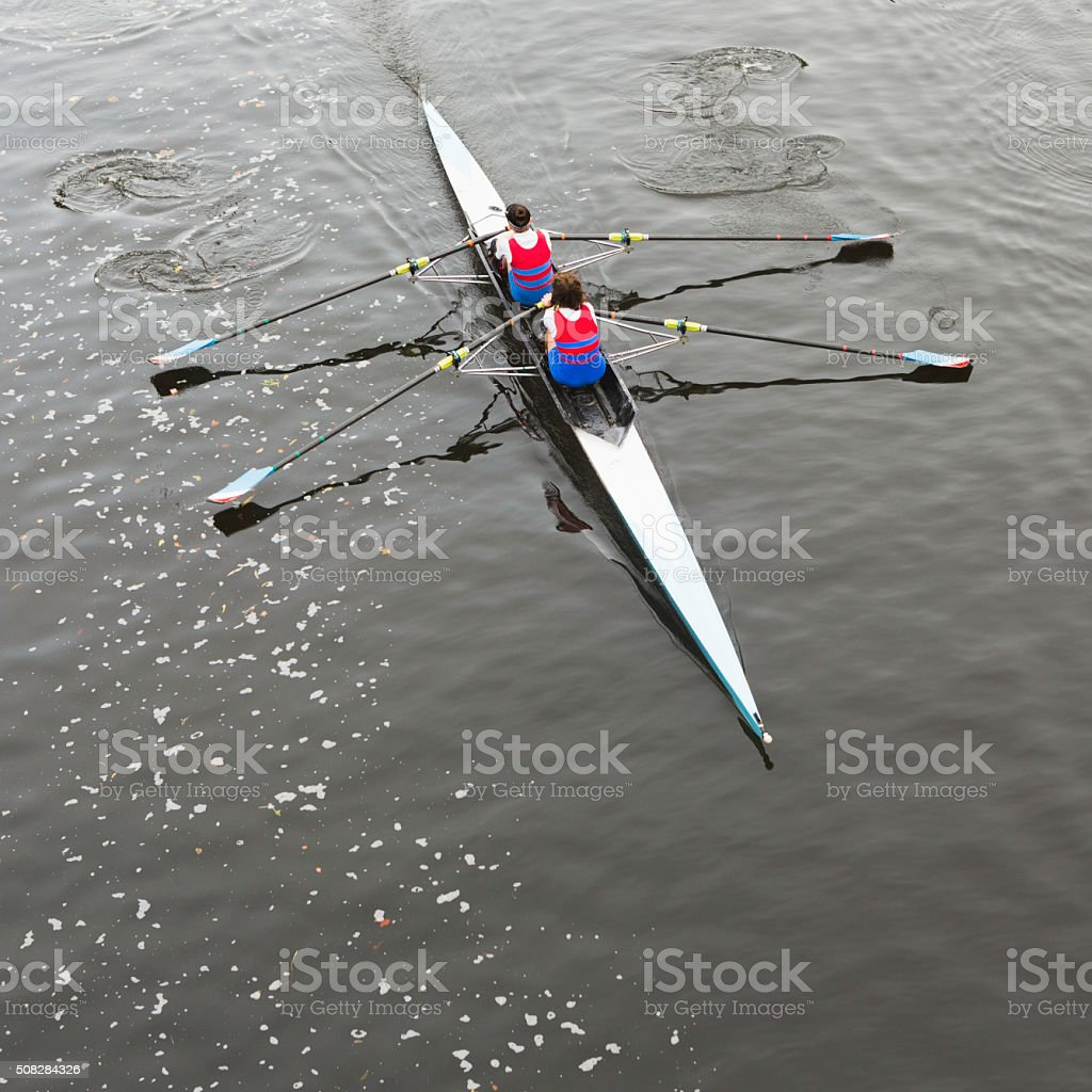 Row, Row, Row Your Boat! stock photo