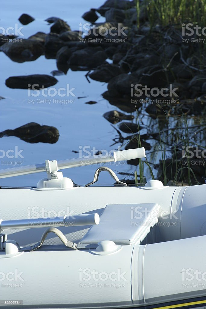 Row Your Boat Ashore royalty-free stock photo
