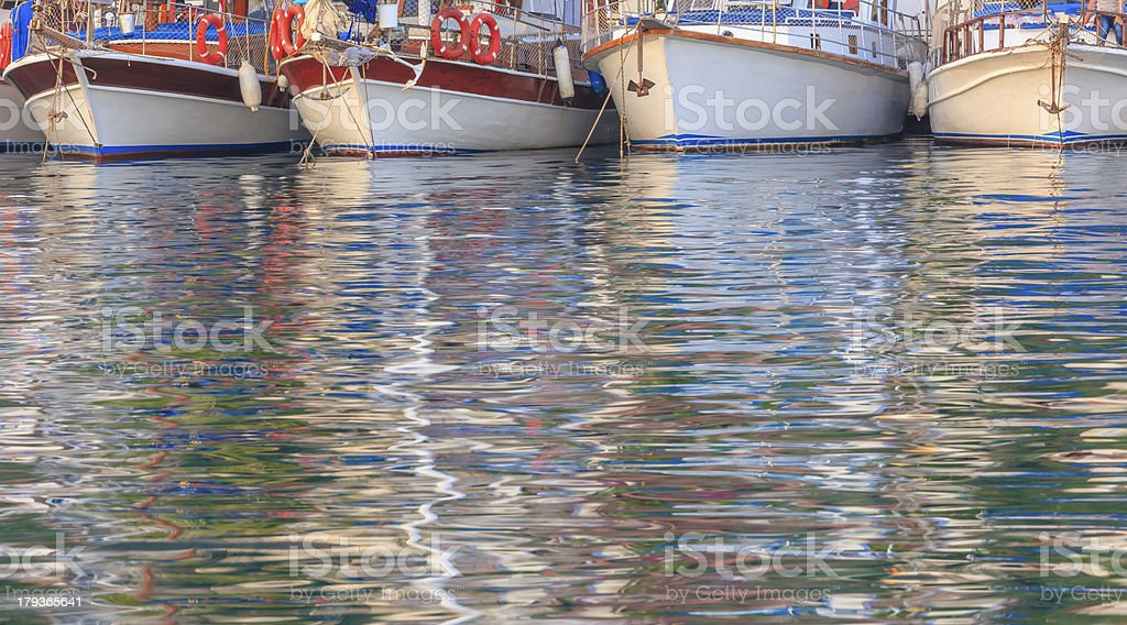 Rowboats royalty-free stock photo