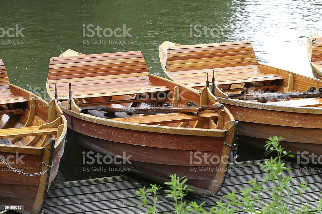 Rowboats foto stock royalty-free