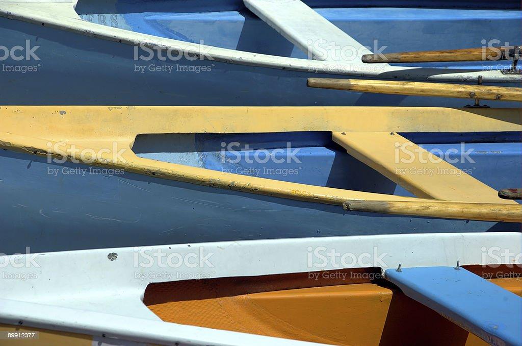 rowboats royalty free stockfoto
