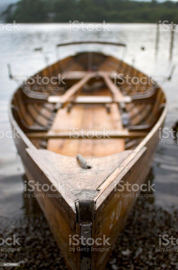 Rowing boat 06. royalty-free stock photo