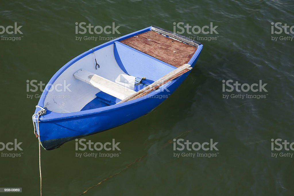 Rowing boat royalty-free stock photo