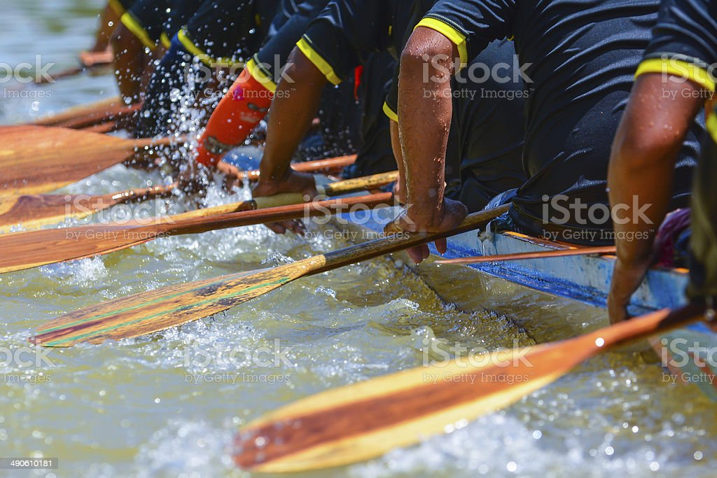 rowing team-Rennen – Foto